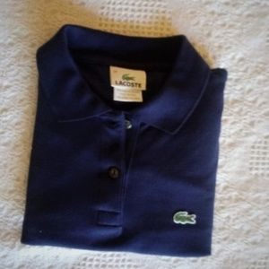 Lacoste Navy Blue Slim Fit Polo